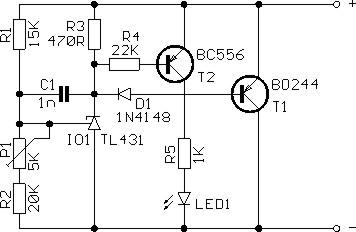 Схема балансира для LiPo.  Непонятно назначение C1, D1?